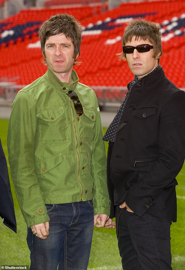 Scrapped: Noel's words come after plans for a new Oasis compilation album and accompanying bonus disc of unreleased material have 'been scrapped' after feuding Noel and Liam failed to agree on the project's direction (pictured in 2009)