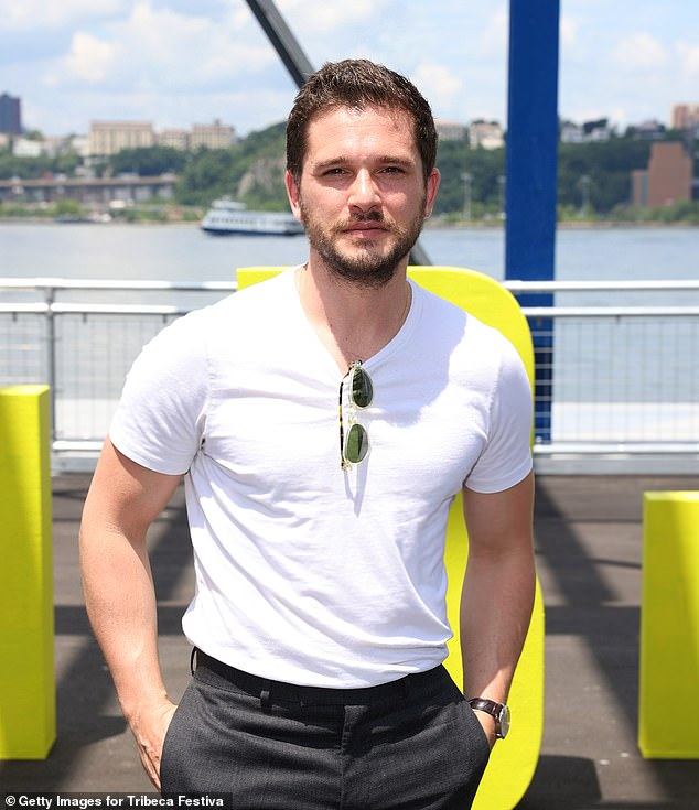 Invited: Game of Thrones star Kit Harington was also part of the festivities