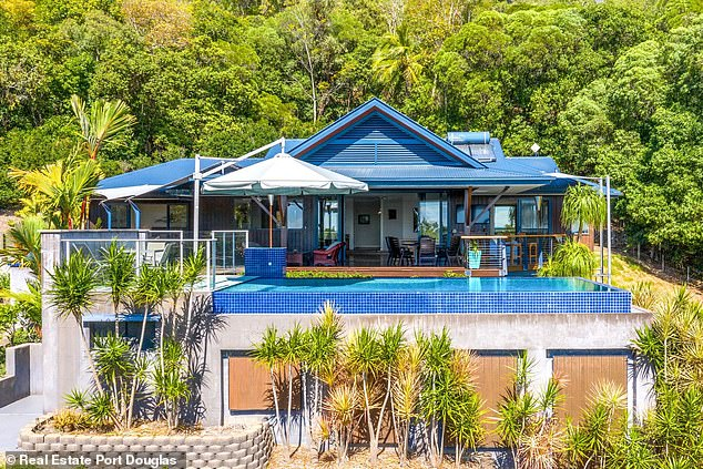 New digs:While no sale price has been disclosed, the house was listed for $1.3million and it's believed Kyle, 49, paid about that figure, reported The Cairns Post
