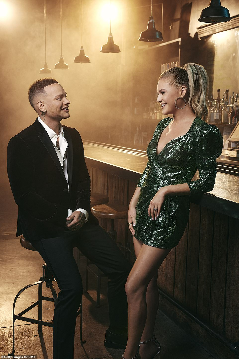 Hosts and nominees: Both artists are nominated for three awards each this year. Kane recalled winning his first industry award at the ceremony in a statement last month