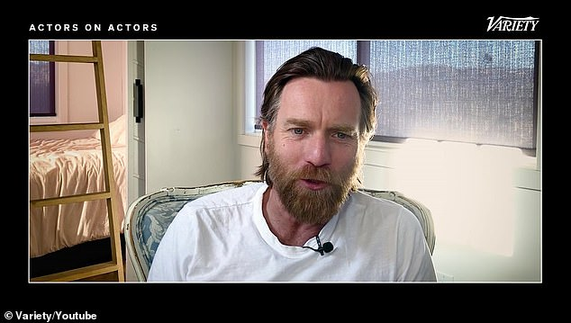 Honest: Ewan McGregor reveals that staying calm brought him 'joy and happiness and peace' he never knew before