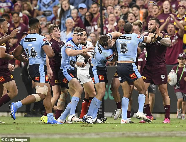 Top of the ladder: The State of Origin opener viewership didn't account for regional audiences, which means that number is even higher. It easily surpassedChannel Nine's biggest reality program, Married at First Sight, which recorded 1.3 million eyeballs for it's season eight finale