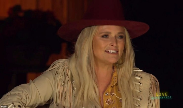 Poised for gold:Miranda Lambert and Brown lead the nominees with four nods apiece