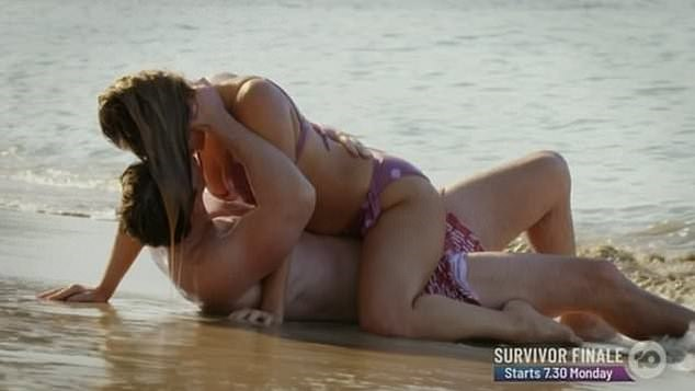Remember this? Abbie and Matt famously enjoyed a romp at the beach during one of the show's raunchiest ever solo dates