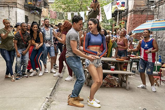In The Heights is adapted from the stage musical by Lin-Manuel Miranda and is directed by Crazy Rich Asians helmer Jon M. Chu.The movie tells the story of life in the largely Dominican neighborhood of Washington Heights in NYC over the course of three days one hot summer