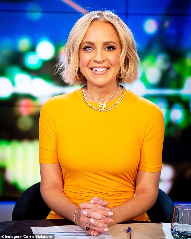 Winning praise: Many others said Carrie looked 'stunning', 'gorgeous' and 'so beautiful' in her elegant outfit