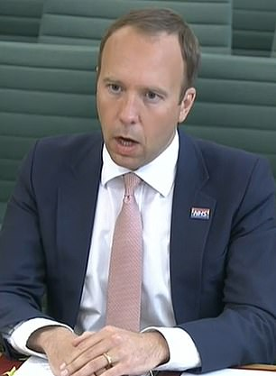 Health Secretary Matt Hancock faced a grilling from MPs today about No10¿s failures throughout the virus crisis and accusations of being a serial liar