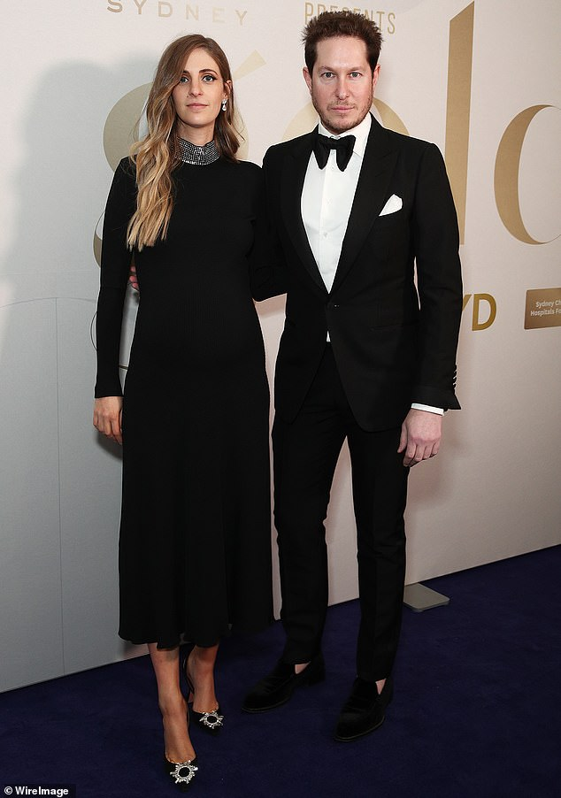 Star-studded event: Camilla's brother Marc Freeman also attended the charity event with his wife Nicole Landerer