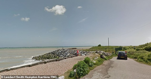 Property close to the beach can be very expensive with a recent house sold for £4million