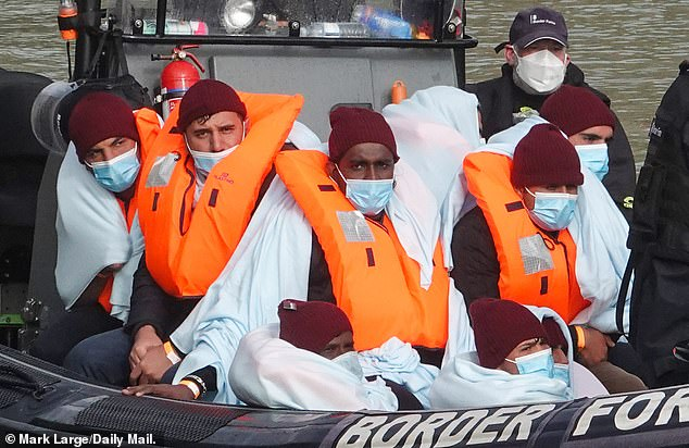 More migrants arriving in Dover, after the Home Office said 179 people made the crossing
