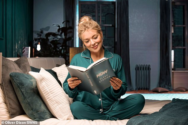 Impressive:The stories are scientifically engineered to ensure the perfect night's slumber, and at 15 minutes in length they're seen as a good fit to help people drift off to sleep