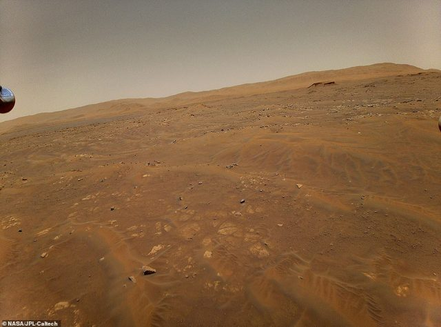 The Perseverance rover will explore two regions in Mars' Jezero Crater: the'Crater Floor Fractured Rough' and 'Séítah' (pictured)