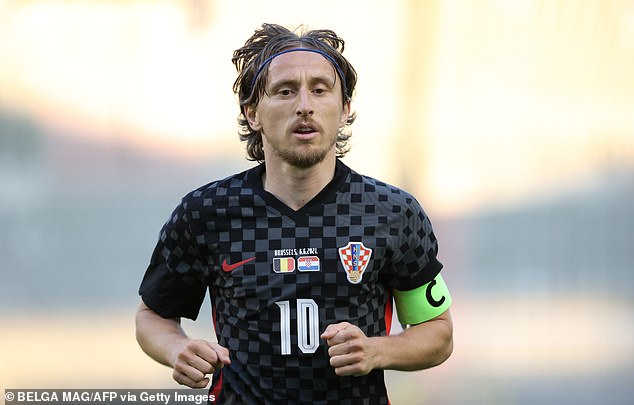 Luka Modric, 35, will make a nuisance of himself against England at Wembley on Sunday