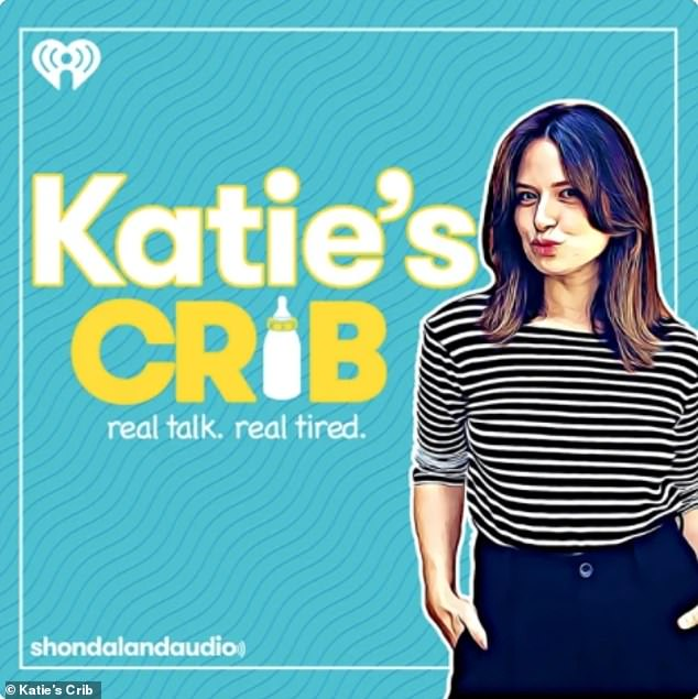 """The Canadian 39-year-old recalled on Thursday's episode of podcast Katie's Crib:'I get up to the [hospital security guard] and I say, """"It's all happening, in the car. You need to get the wheelchair down here. You need to get the people, all the people, all the professionals! It's happening!""""'"""