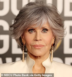 Fonda, 83, is a relentless activist who has long used her Hollywood platform to talk about political causes