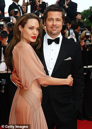 Lost love: Brad and Angelina met while working on set of Mr. & Mrs. Smith in 2004 and were married in 2014; pictured in 2009