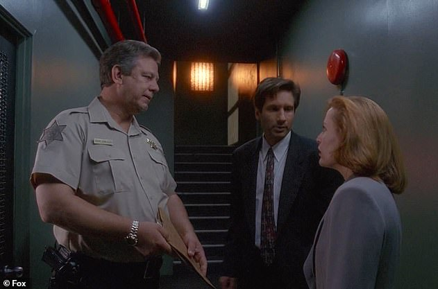 His big screen credits included small roles in Passenger 57, Turner & Hooch, Showdown In Little Tokyo and Mulholland Falls, and he made guest appearances in a string of TV shows including The X-Files (pictured), The Dukes of Hazzard, Seinfeld and The West Wing