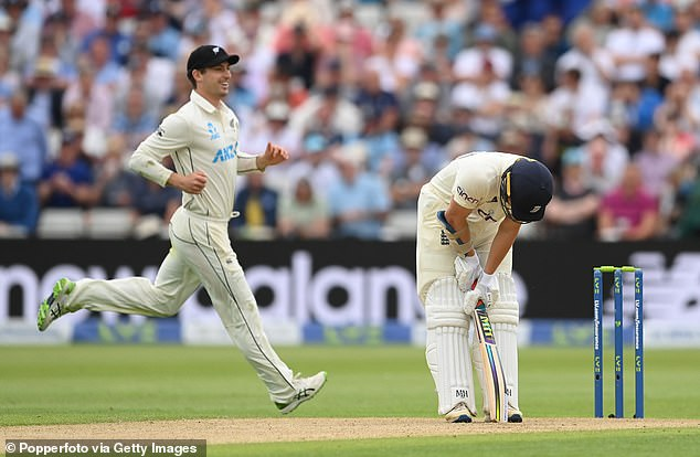 James Bracey now has two ducks in two innings, which shows the difference between Test and county cricket