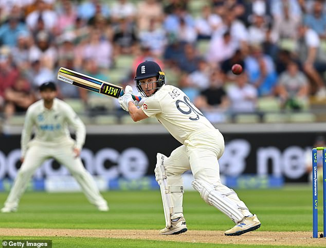 England finished on 258-7 on the first day of the second Test against New Zealand