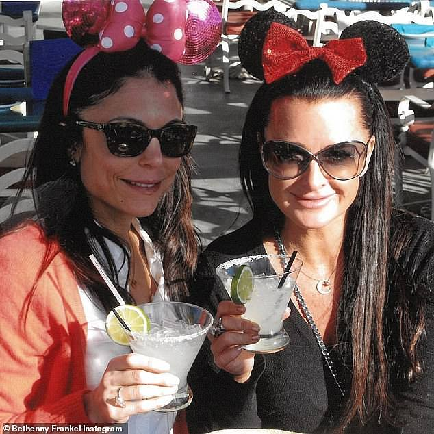 Cheers to us! The duo have remained firm friends for the last few decades