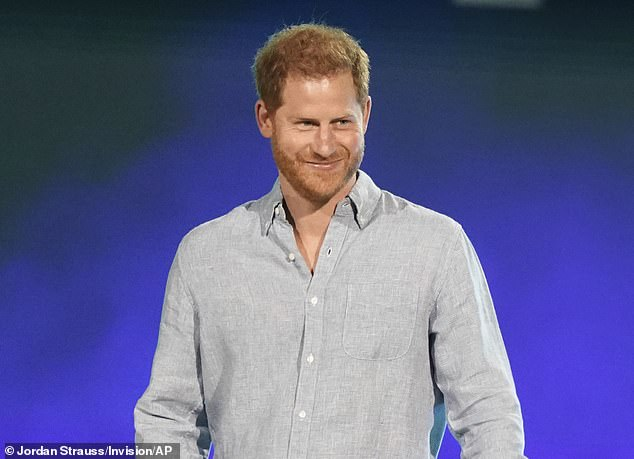 Search:The Crown bosses are reportedly struggling to find a boy to play a young Prince Harry because there is a shortage of ginger-haired actors (Prince Harry pictured in May 2021)