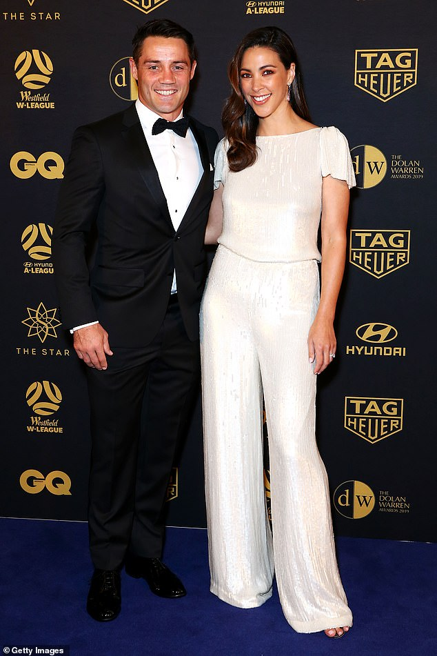 Selling up: Former NRL star Cooper Cronk and presenter wife Tara Rushton have listed their charming four-bedroom home in Mosman for sale with $4.5M hopes