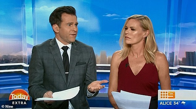 """Furious: David Campbell was less than impressed with the loss of communication and said, """"I think she's hiding me totally on this issue!"""