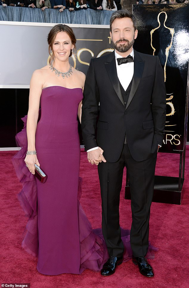 Former Flame: After parting ways with Lopez in 2004, Affleck went on to date and married actress Jennifer Garner;  Jennifer and Ben in 2013