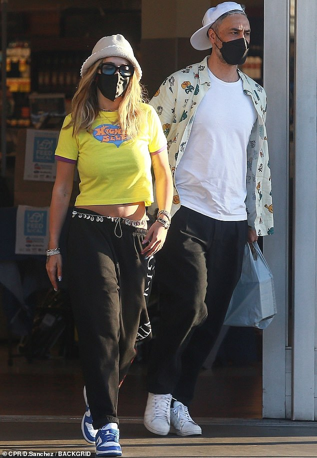 Going out: Rita Ora and Taika Waititi were spotted shopping for groceries together in Los Angeles this week amid their romance