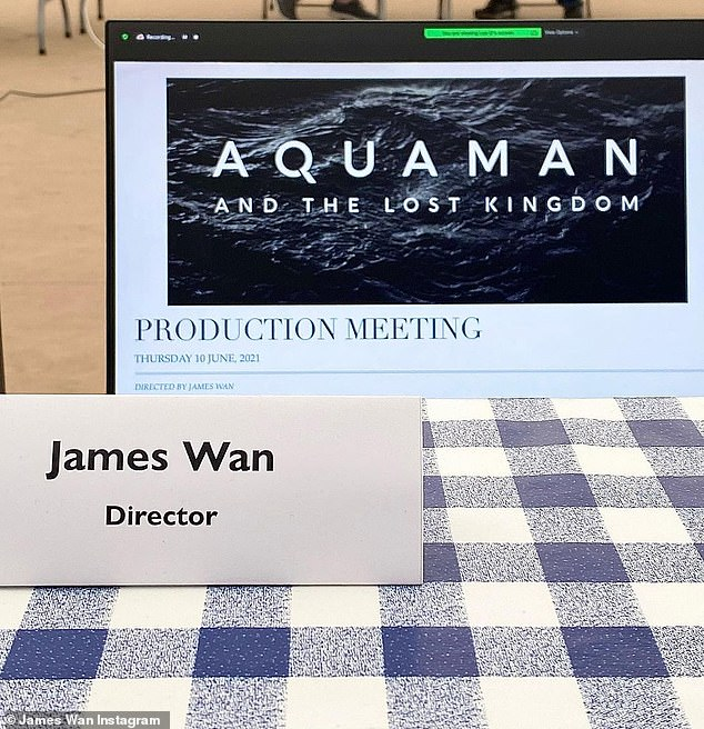 Title: Aquaman director James Wan took to Instagram on Thursday to reveal the official title of his highly anticipated sequel: Aquaman and the Lost Kingdom