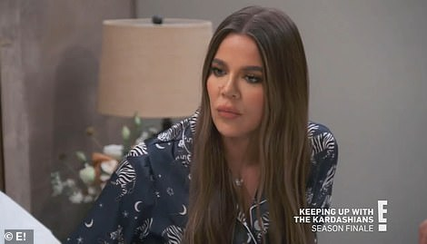 Setting boundaries:But first, Kourtney asks her sisters to 'stop agreeing with him' and understand that she has set boundaries in order for Scott, 38, who is now dating Amelia Hamlin, 19, to learn from his past mistakes