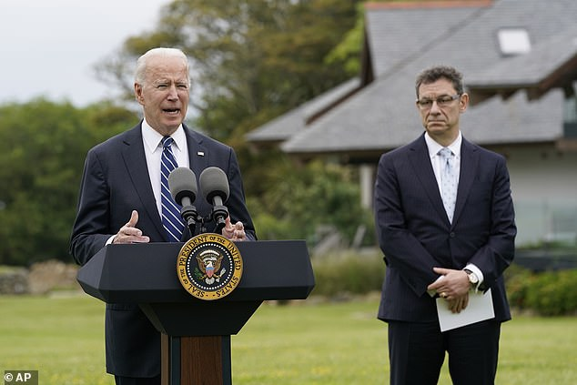 The project has since been abandoned after a White House ethics review and new rules established by the Biden administration aimed at banning conflicts of interest