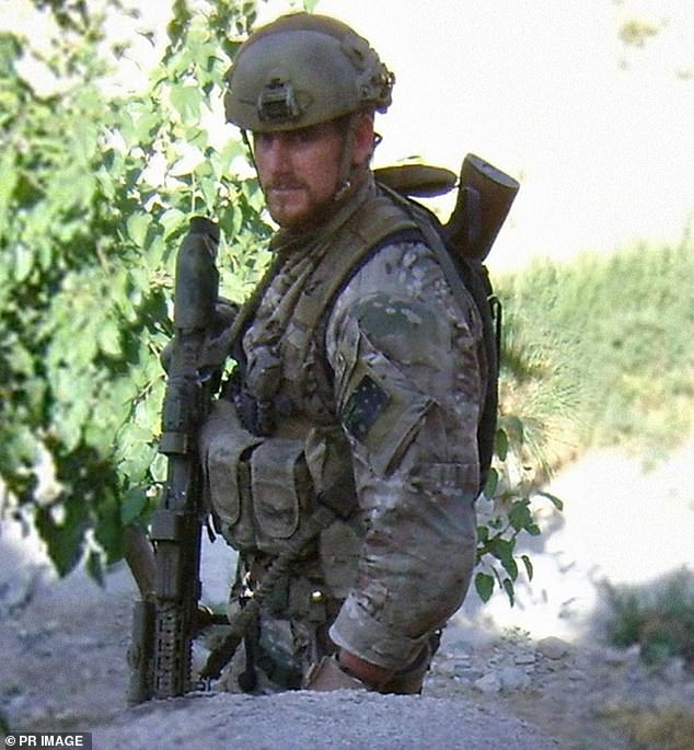 Ben Roberts-Smith has spent the past week defending his honour in a Sydney court room as he denies allegations he committed war crimes in Afghanistan. The claims published in three newspapers are made by former and serving SAS soldiers. Roberts-Smith is pictured