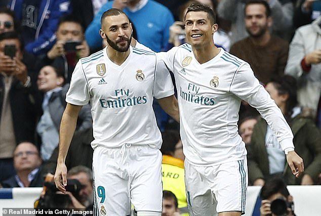 Cristiano Ronaldo was 'in love' with Karim Benzema at Real Madrid because he was unselfish