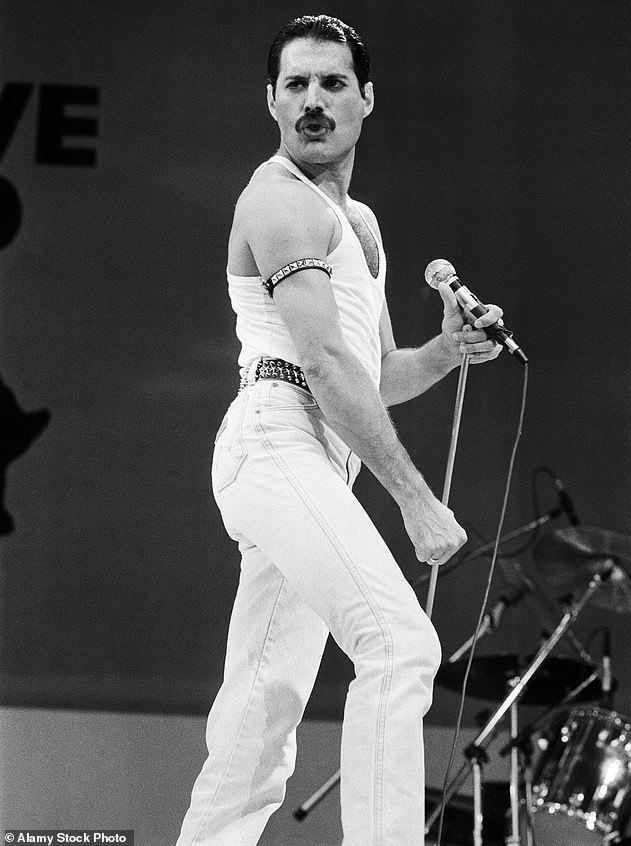 Some sort of magic: Freddie Mercury at the Live Aid concert at Wembley