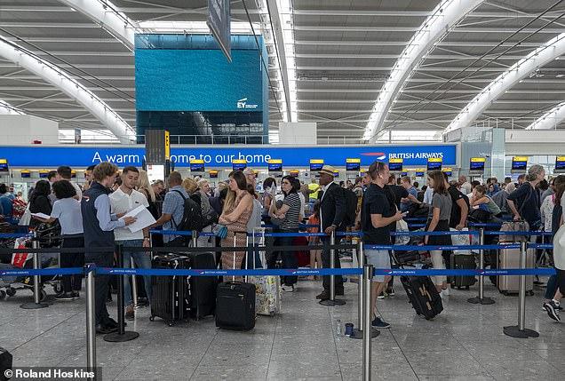 Heathrow in July 2019