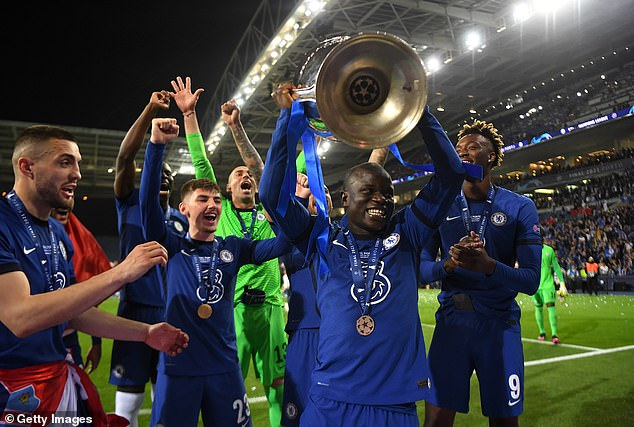 He said Kante was 'an example for the country' after winning the Champions League trophy