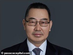 Innova Medical Group is owned by private equity firm Pasaca Capital Inc, that was set up by Chinese-born American businessman Charles Huang (pictured)