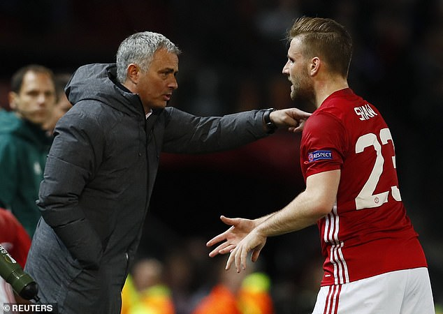 Shaw admitted he endured a 'very hard time' during Mourinho's time as Man United manager