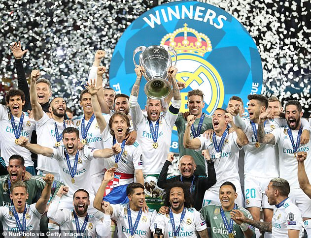 Real Madrid won the Champions League in 2018 but UEFA's action could have led to a ban