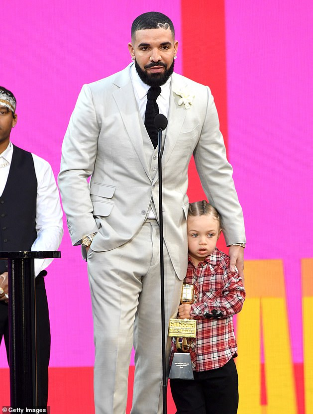 Decade award: At the end of May, Drake was presented with the Artist Of The Decade award at the Billboard Music Award in Los Angeles and brought his son Adonis onstage
