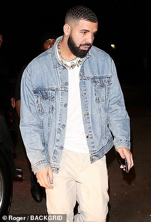 Who's that girl? On Thursday, Drake, 34, kept a low profile as he appeared arrive at an event solo