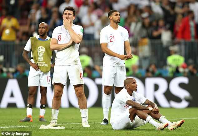 The ex-England boss says the Three Lions have to raise their game from the 2018 World Cup