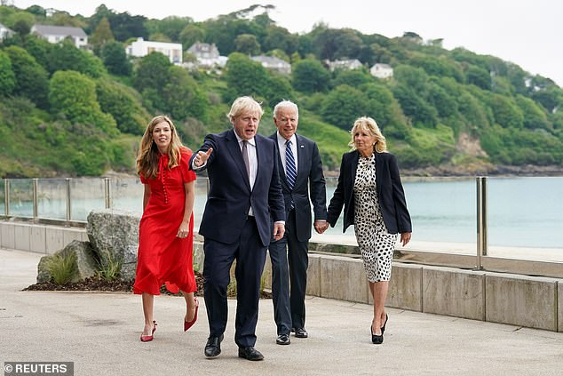 Joe Biden, Boris Johnson and others will bond around camp fires toasting marshmallows and listening to sea shanties tomorrow night