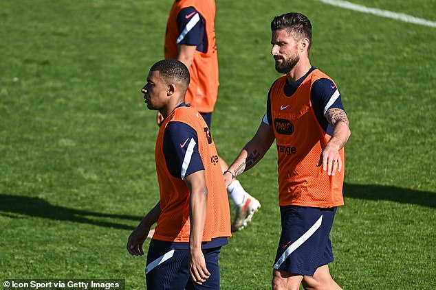 Euro 2020: The historic tournament feuds amid Kylian Mbappe and Olivier  Giroud's reported spat   Daily Mail Online