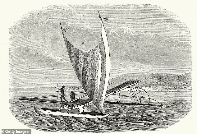 Voyagers: Polynesians explored the Pacific Ocean centuries before Europeans did (stock)