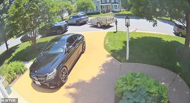 A Virginia mother got a shocking delivery when her pulled up to their home and dumped 80,000 pennies on their front lawn.