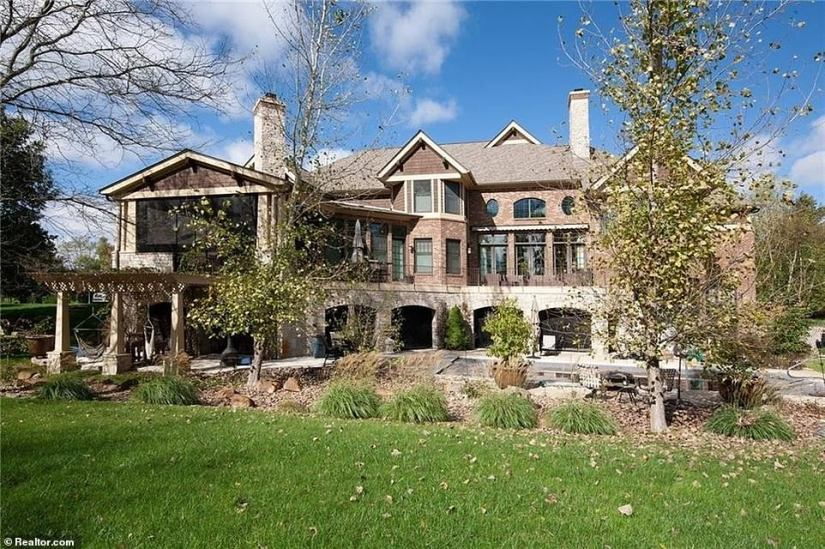 The 62-year-old former Vice President purchased a new home (pictured) in the Indiana suburbs of Carmel for $1.93 million last month