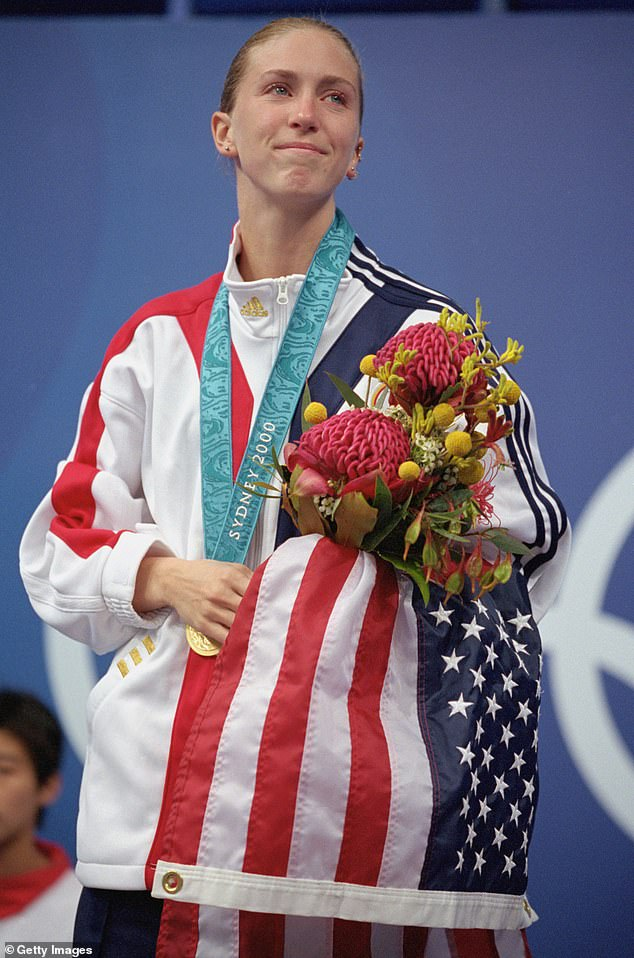 Legacy:At her first Olympics in Sydney in 2000, Wilkinson became the first American woman in 36 years to win gold in 10-meter platform diving