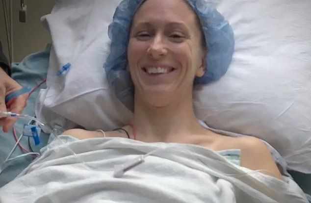 Comeback:In 2018, she underwent spinal fusion surgery to repair the damage to her neck following years of diving into the water at high speeds